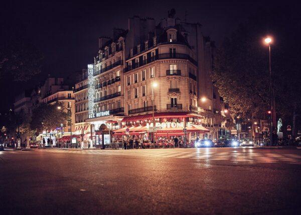 Café de la Rotonde, fotokunst veggbilde / plakat av Peder Aaserud Eikeland