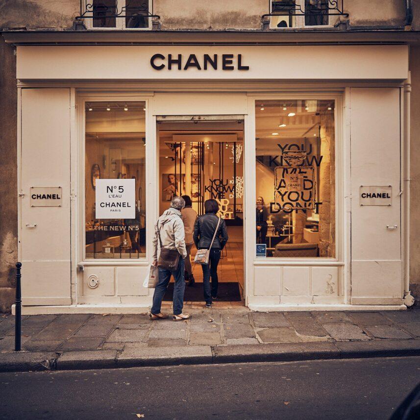 Chanel Paris, fotokunst veggbilde / plakat av Peder Aaserud Eikeland