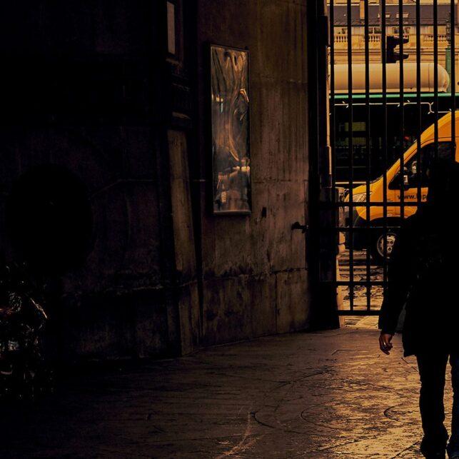 Paris reflections, fotokunst veggbilde / plakat av Peder Aaserud Eikeland