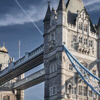 Tower Bridge morgenlys, fotokunst veggbilde / plakat av Peder Aaserud Eikeland