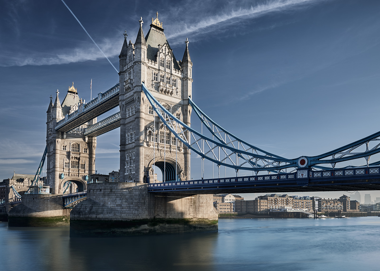 Tower Bridge morgenlys av Peder Aaserud Eikeland