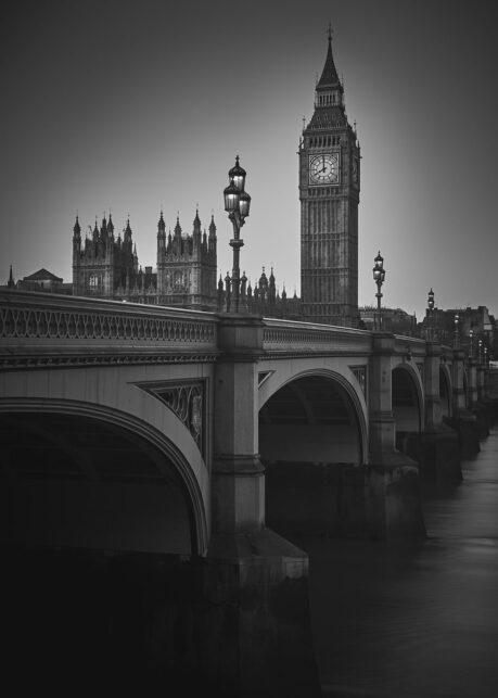 Westminister Bridge og Big Ben SH av Peder Aaserud Eikeland