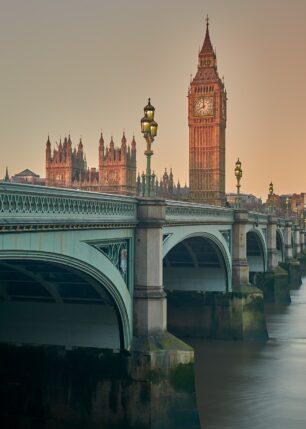 Westminister Bridge og Big Ben, fotokunst veggbilde / plakat av Peder Aaserud Eikeland