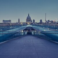 London Millennium Bridge av Peder Aaserud Eikeland
