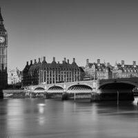 Westminister og Big Ben, fotokunst veggbilde / plakat av Peder Aaserud Eikeland