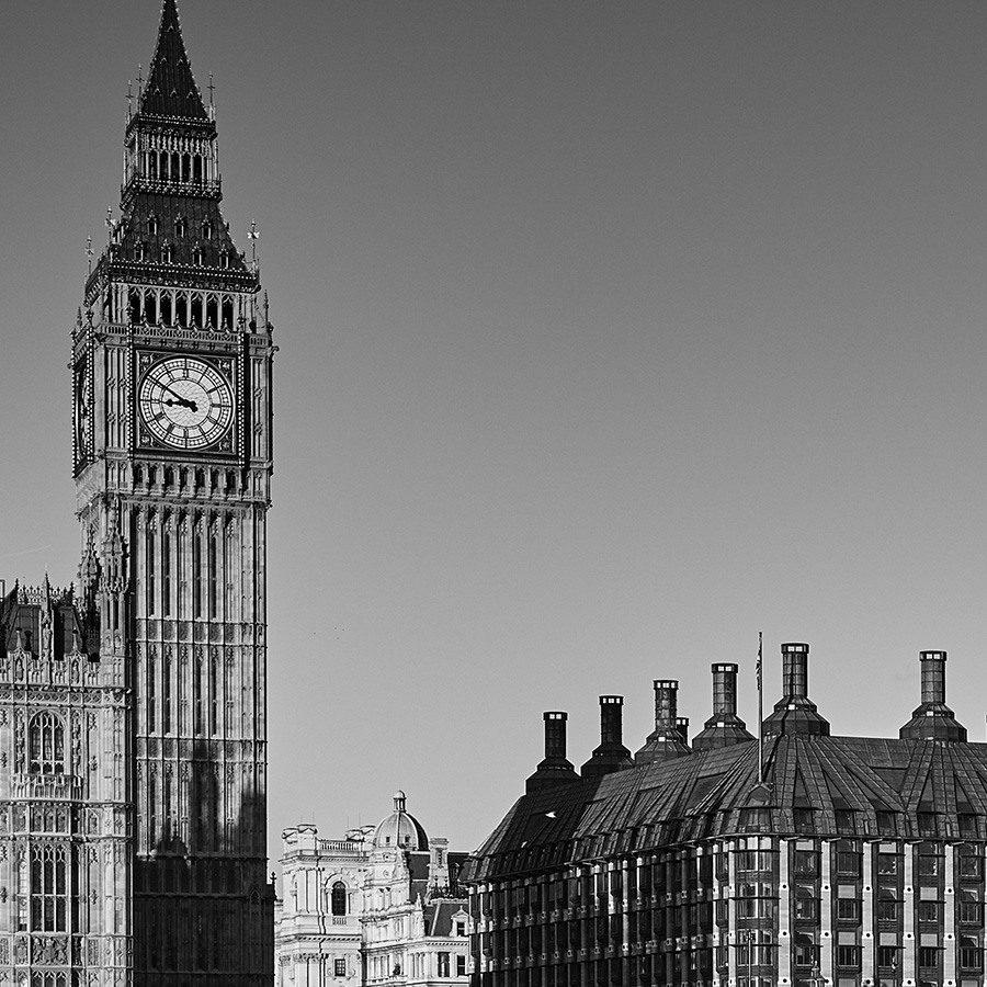 Westminister og Big Ben av Peder Aaserud Eikeland