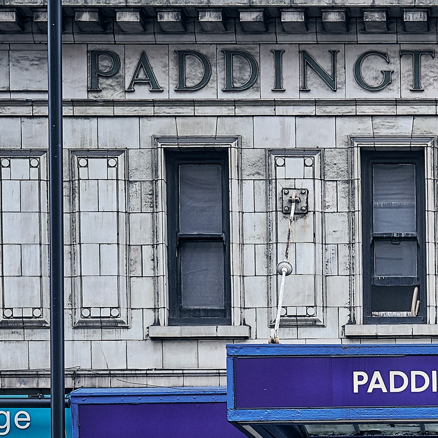 Paddington underground station av Peder Aaserud Eikeland
