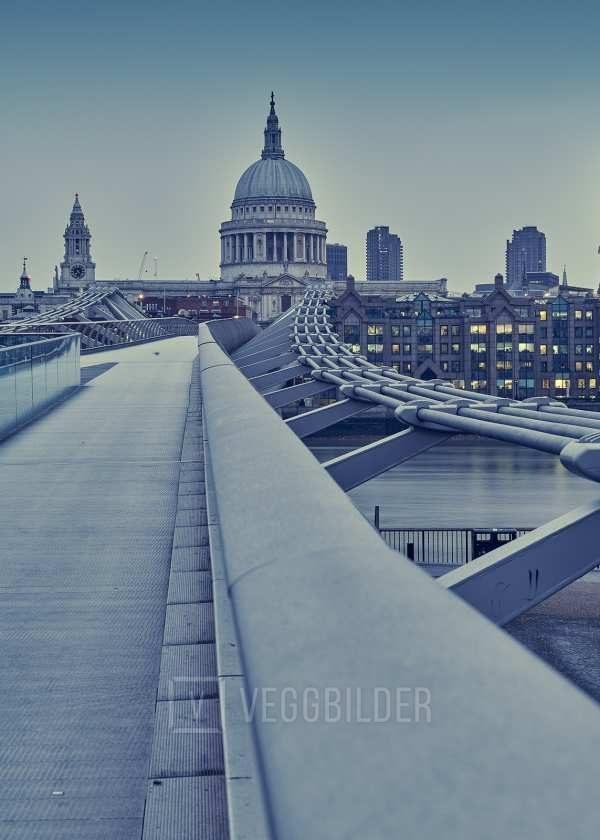 Millennium Bridge linjer av Peder Aaserud Eikeland