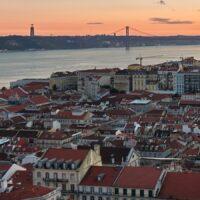 Lisboa utsikt av Peder Aaserud Eikeland