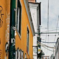 Ascensor da Bica, fotokunst veggbilde / plakat av Peder Aaserud Eikeland