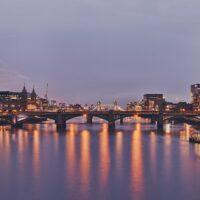 Southwark Bridge av Peder Aaserud Eikeland