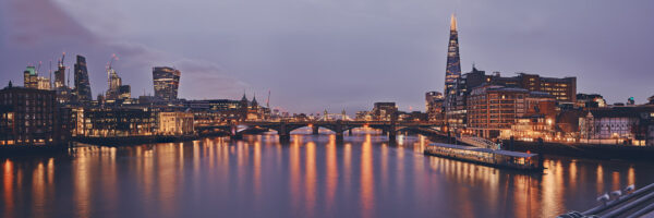 Southwark Bridge, fotokunst veggbilde / plakat av Peder Aaserud Eikeland