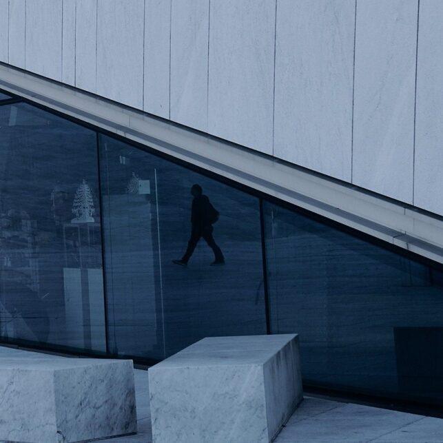 Den Norske Opera vinkler, fotokunst veggbilde / plakat av Peder Aaserud Eikeland