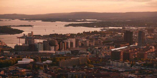 Oslofjorden panorama, fotokunst veggbilde / plakat av Peder Aaserud Eikeland