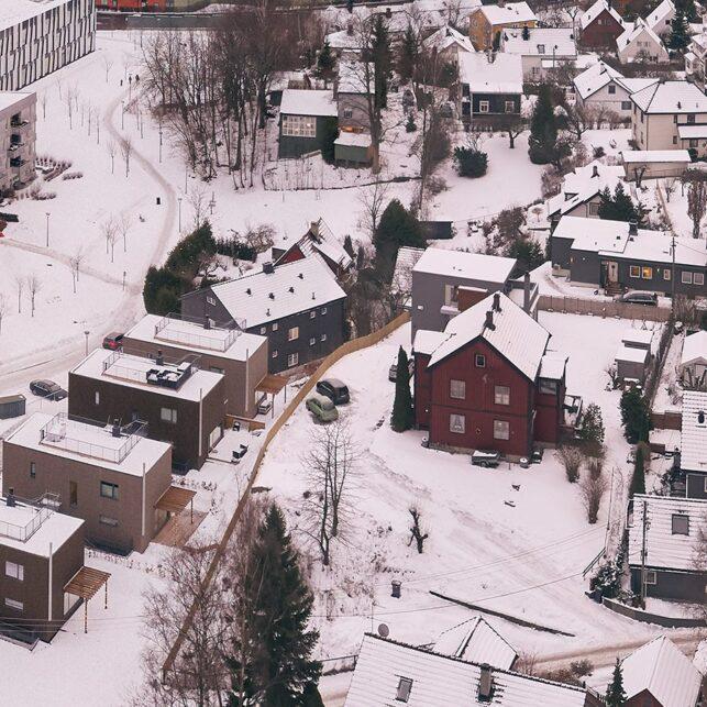 Spikerverket i Nydalen, fotokunst veggbilde / plakat av Peder Aaserud Eikeland