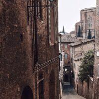 Montepulciano streets II, fotokunst veggbilde / plakat av Peder Aaserud Eikeland
