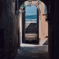 Montepulciano streets III, fotokunst veggbilde / plakat av Peder Aaserud Eikeland
