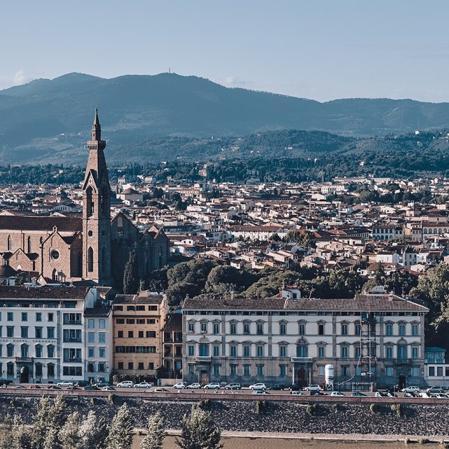 Vakre Firenze by, fotokunst veggbilde / plakat av Peder Aaserud Eikeland