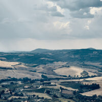 Toscana landskap panorama, fotokunst veggbilde / plakat av Peder Aaserud Eikeland