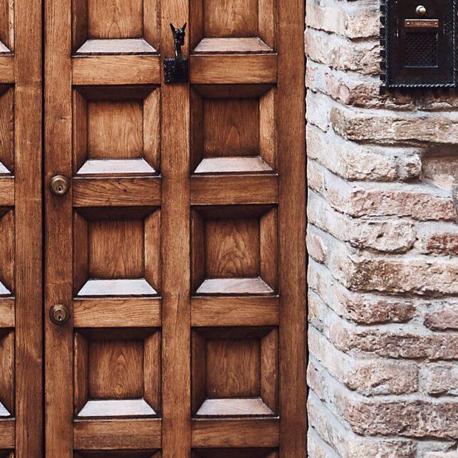 Montepulciano streets IIII, fotokunst veggbilde / plakat av Peder Aaserud Eikeland
