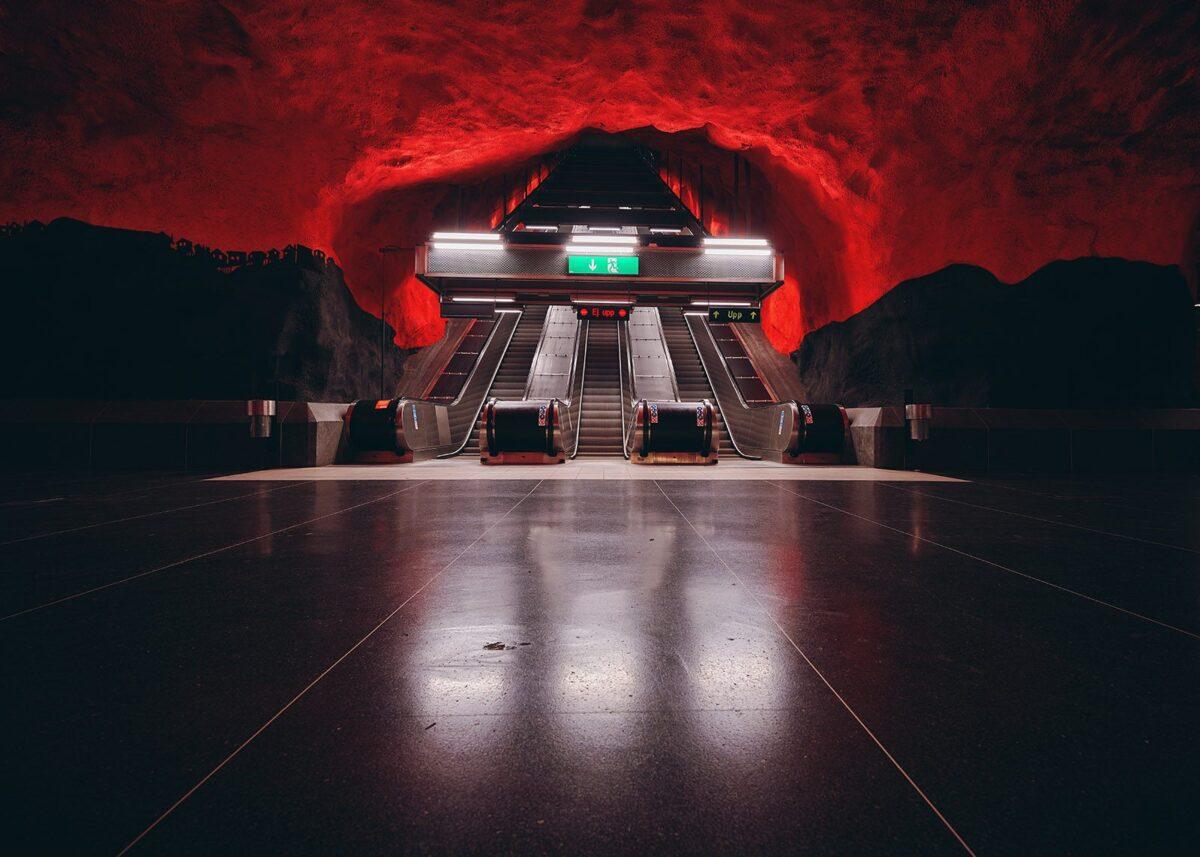The Gates of Hell II, fotokunst veggbilde / plakat av Peder Aaserud Eikeland