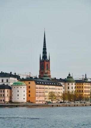 Riddarholmskyrkan, fotokunst veggbilde / plakat av Peder Aaserud Eikeland