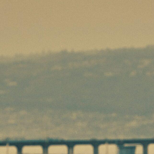 Manhattan beach bike, fotokunst veggbilde / plakat av Peder Aaserud Eikeland