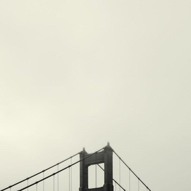 Golden Gate Tall, fotokunst veggbilde / plakat av Peder Aaserud Eikeland
