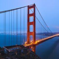 Golden Gate long, fotokunst veggbilde / plakat av Peder Aaserud Eikeland