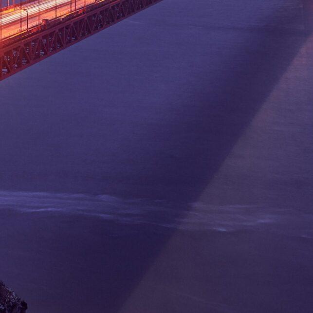 Golden Gate standing tall, fotokunst veggbilde / plakat av Peder Aaserud Eikeland