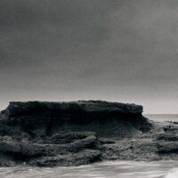 Bølgemøte, fotokunst veggbilde / plakat av Peder Aaserud Eikeland