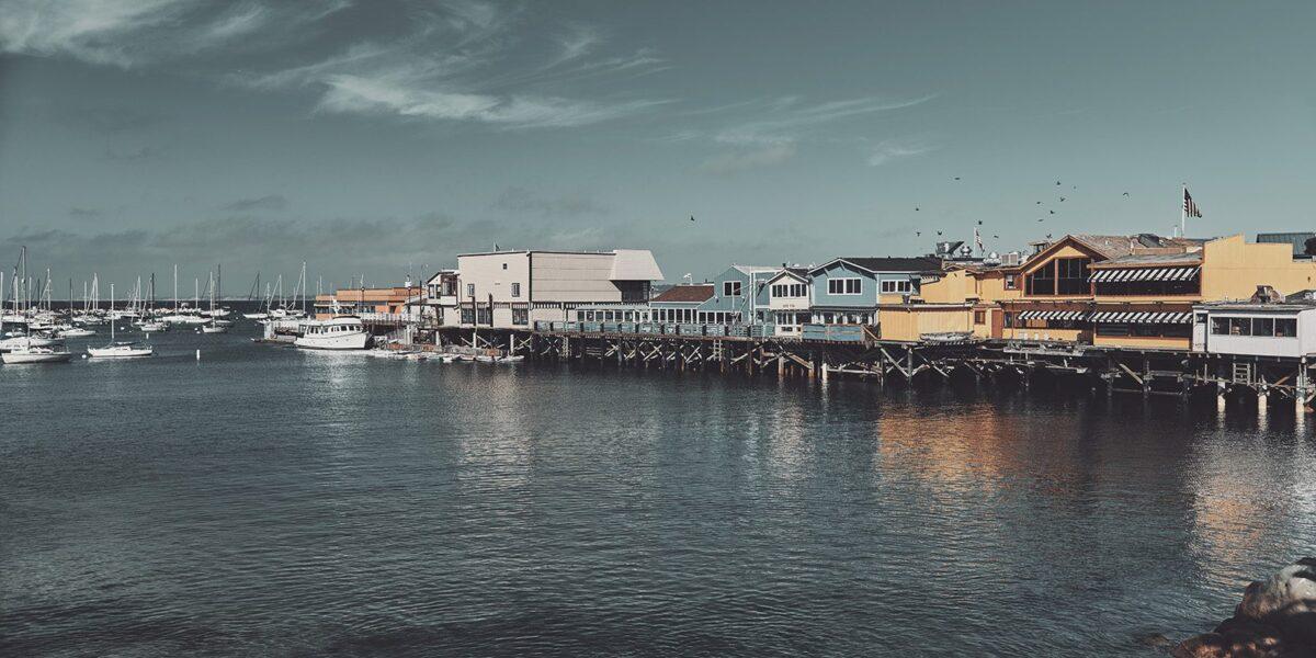 Monterey pier, fotokunst veggbilde / plakat av Peder Aaserud Eikeland