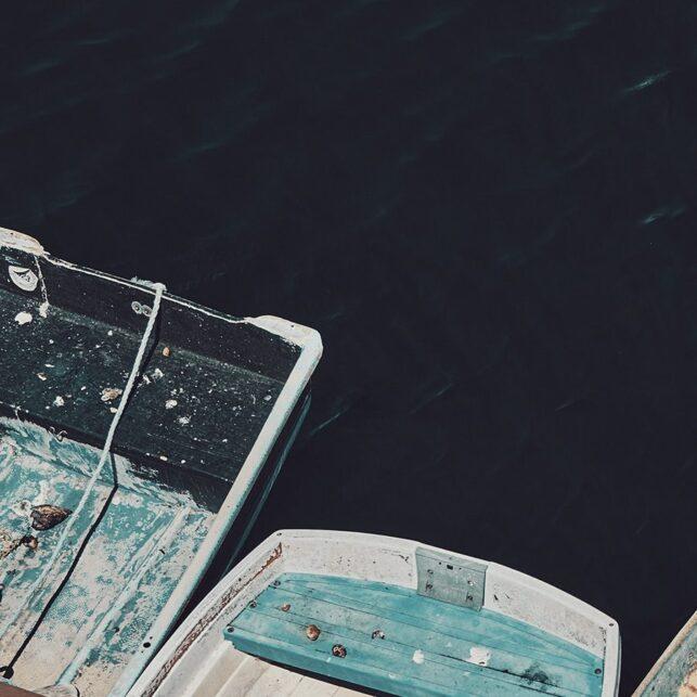 Monterey robåter, fotokunst veggbilde / plakat av Peder Aaserud Eikeland