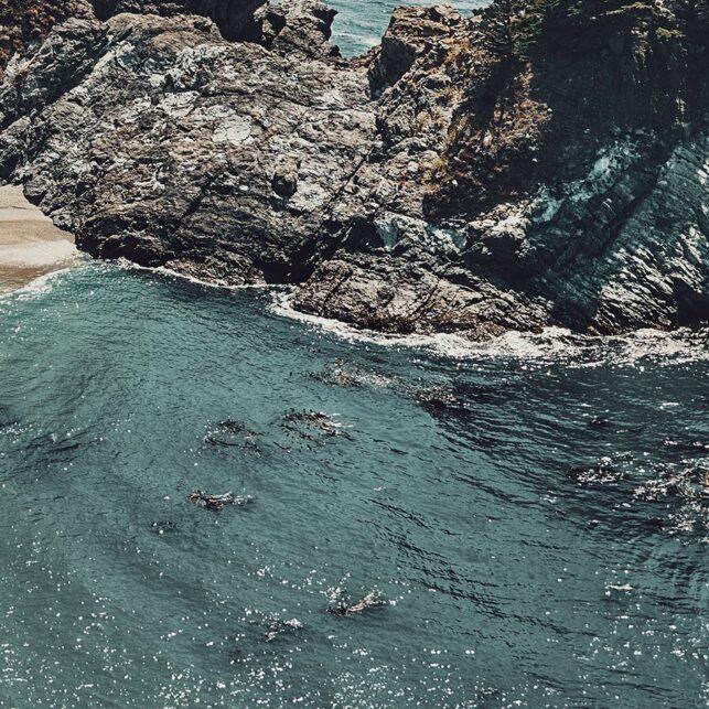 McWay Falls, fotokunst veggbilde / plakat av Peder Aaserud Eikeland