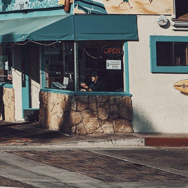 Splash Café, fotokunst veggbilde / plakat av Peder Aaserud Eikeland