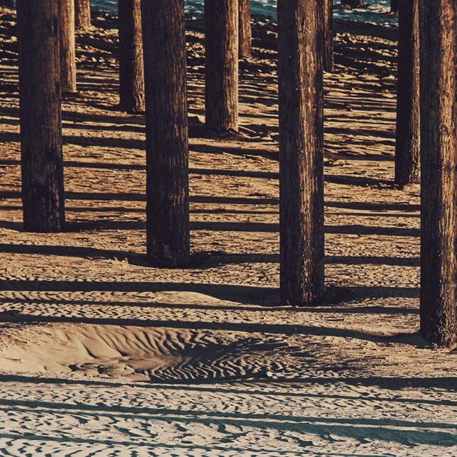 Pismo Beach pier, fotokunst veggbilde / plakat av Peder Aaserud Eikeland