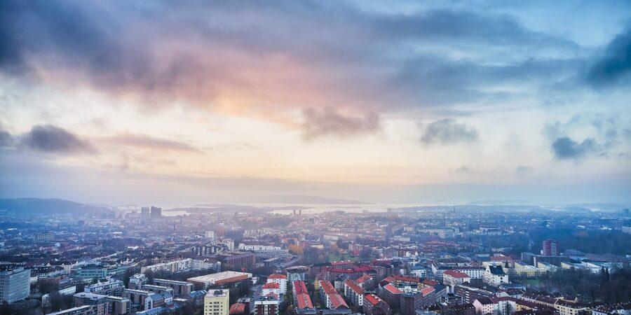 Bjølsen og Oslo fra lufta av Peder Aaserud Eikeland