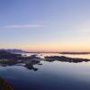Vågøya og Jendemsfjellet, fotokunst veggbilde / plakat av Peder Aaserud Eikeland