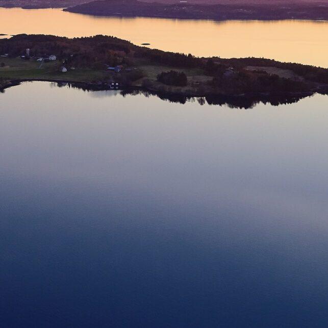 Vågøya, fotokunst veggbilde / plakat av Peder Aaserud Eikeland
