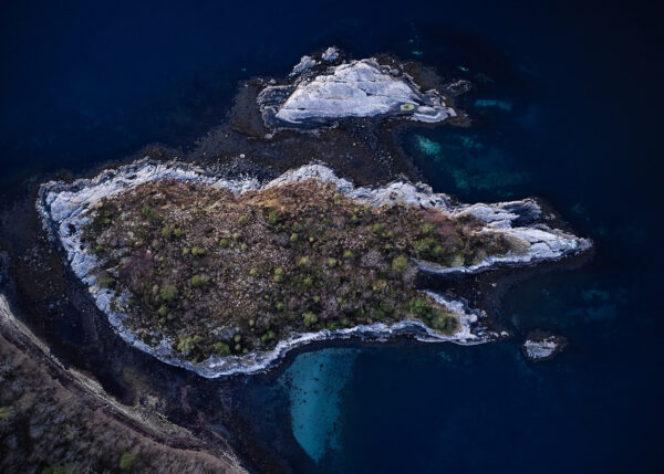 Øy - innrammet av Peder Aaserud Eikeland