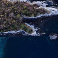 Øy - innrammet, fotokunst veggbilde / plakat av Peder Aaserud Eikeland