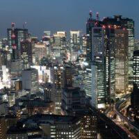 Tokyo by Night, fotokunst veggbilde / plakat av Tor Arne Hotvedt