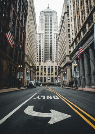 Chicago Board of Trade av Tor Arne Hotvedt