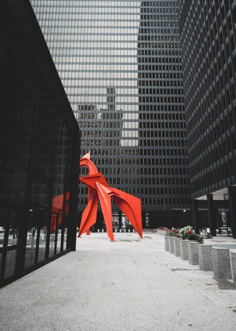 Flamingo I av Tor Arne Hotvedt