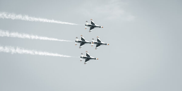 U.S. Airforce Thunderbirds av Tor Arne Hotvedt