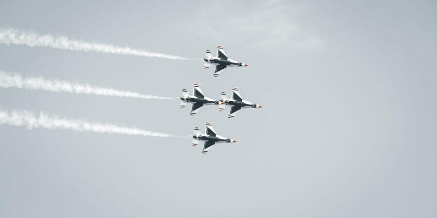 U.S. Airforce Thunderbirds av Tor Arne Hotvedt