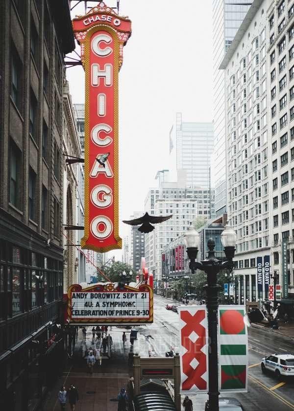 The Chicago Theatre av Tor Arne Hotvedt