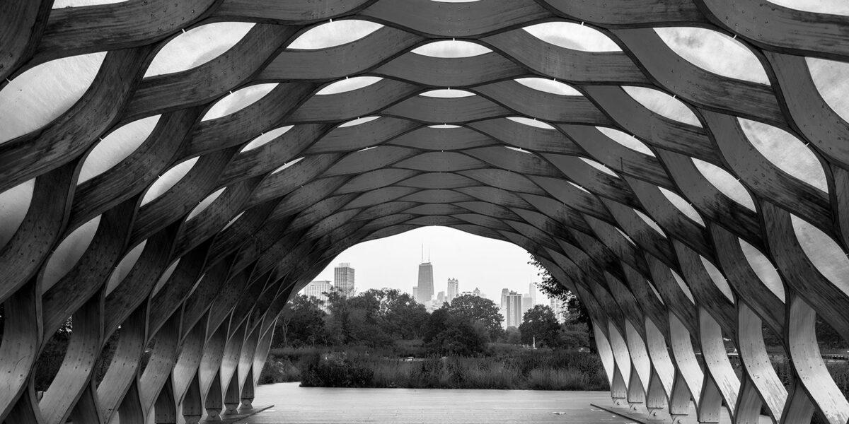 Trepaviljongen i Lincoln Park av Tor Arne Hotvedt