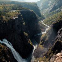 Vøringsfossen i Eidfjord i Hordaland., fotokunst veggbilde / plakat av Tor Arne Hotvedt