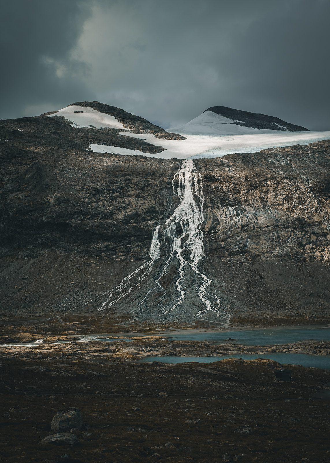 Smeltende isbre I av Tor Arne Hotvedt